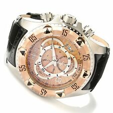 Swiss Made Invicta 11013 Reserve Excursion Chronograph Rose Dial Men's Watch