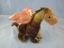 Scorch the Magical Mystical Dragon TY Beanie Baby MWT 4210 Birthday July 31 1998