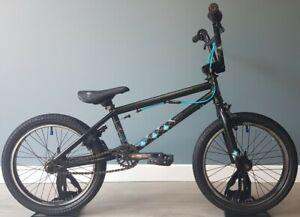 "Wethepeople Arcade 18"" Rare BMX Stunt Bike Black Blue Free UK Delivery"