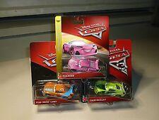 "NEW DISNEY PIXAR CARS SET OF(3) CARS CHASE RACELOTT,RICH MIXON,RYAN""INSIDE""LANEY"