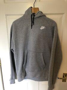 Nike Hoody Medium Small Grey Men's