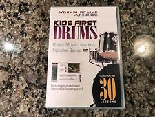 Kids First Drums New DVD! 2007 WorkshopLive PlayNow Series Iron Maiden Metallica