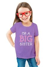 I'm The Big Sister - Cute Sibling Gift Idea Toddler/Kids Girls' Fitted T-Shirt