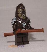 Lego Chief Tarfful Minifigure CUSTOM for Star Wars Wookiee NEW cus256