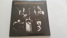 "ROLLING STONES ""GOT LIVE IF YOU WANT IT"" REISSUE  EU 7"" vinyl"