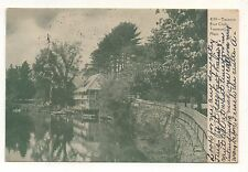 Boat Club in TAUNTON MA Vintage 1905 Massachusetts Postcard 2