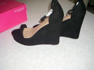 """Extrem Sexy High Heel Wedges """"Shoedazzle"""" -13,5 cm Abs,- Gr.42/43-NEU mit Karton"""