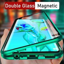 For iPhone 12 13 Pro Max 11 XS XR 8 7 SE 360° Magnetic Tempered Glass Case Cover