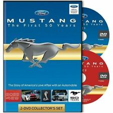 Mustang The First 50 Years DVD - Rare Discontinued Documentary on Ford Mustang