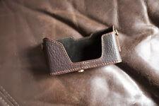 Caso de cámara de Cuero Genuino Real Medio Bolso Cubierta Para Leica Minilux Minilux Zoom
