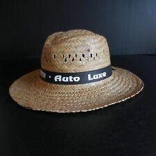 Chapeau paille fait main MAKITO Automobile Club Menton Auto Luxe France N5136