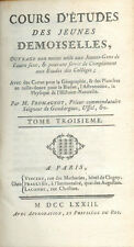 Cours d'études des Jeunes Demoiselles/Abbé Fromageot/Tome 3/Histoire/1773