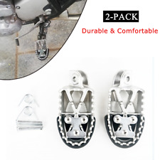 Widen Foot Pedals Motorcycle Off-road Stainless Steel Foot Pegs Forefoot Pedals