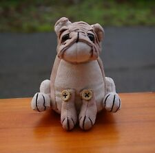 Dora Designs Brutus The Bulldog Doorstop Paperweight Plush Toy Puppy Dog
