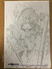 Tales from Wonderland Red Queen #0 Blue Gryphon Exclusive Sketch Cover 1/250