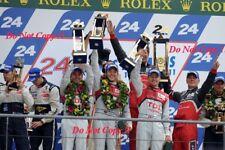 Fassler & Lotterer & Treluyer Audi R18 TDi Winners Le Mans 2011 Photograph 16