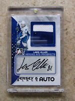 10-11 ITG H&P Heroes Prospects Jersey & Auto Black LARS ELLER /6