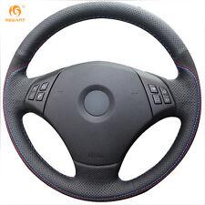 DIY Suede Steering Wheel Cover for BMW E90 320 318i 320i 325i 330i 320d X1 #0155