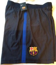 1258633c64c NIKE FC BARCELONA PLAYER ISSUE AEROSWIFT HOME FOOTBALL SHORTS SMALL  829145-451