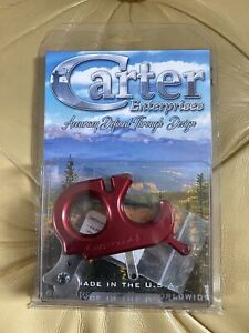 Carter Convertible Thumb Release Red