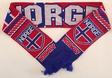 La Norvège Football Foulards NEUF à partir de doux luxe fils acryliques