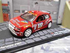 Fiat punto s1600 Super 1600 Rallye Catalunya 2001 #52 dallavilla Ixo Altay 1:43