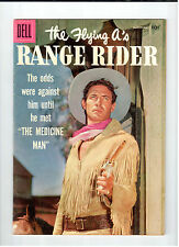 Dell FLYING A'S RANGE RIDER #17 March-May 1957 vintage western comic