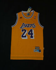 New Men's Kobe Bryant LA LAKERS Throwback Swingman Jersey Yellow Size S-XXL