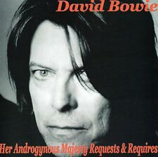 DAVID BOWIE -HER ANDROGYNOUS MAJESTY REQUESTS & REQUIRES -Live NY 2002- Japan CD