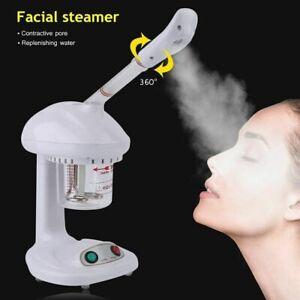 220V Ionen Gesichtsdampfer Ozon Gesichtspflege Pflege Bedampfer Dampfgerät ME