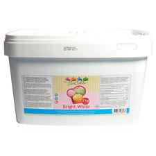 FunCakes Fondant Bright White Vanilla -5kg-