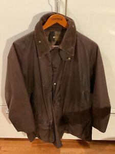 Barbour Beaufort Jacke C48 122cm Braun Dark Brown Jacket Vintage selten