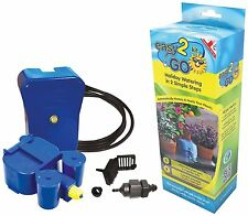 Easy 2 Go Self-Watering Plant Flower Pot Automatic Watering System Garden Kit