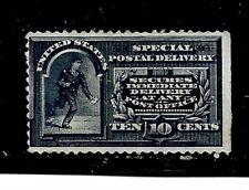US Stamps- Scott # E4/SD3-10c-Mint/LH-1894-Special Delivery-Dark Blue-NG