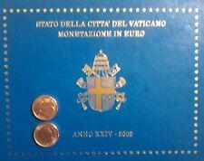 1 CENT DU COFFRET BU VATICAN 2002 (RARE)