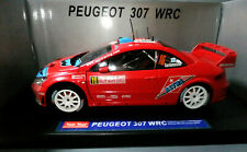 Sunstar 1:18 Scale Peugeot 307 WRC 2006 Monte Carlo Rally Ref 4695