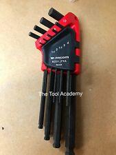 Facom outils 9 pièce extra long reach balle fin hex allen clé set 1.5-10mm