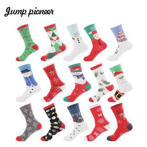 Xmas Gift Pack Women Cotton Socks 7-12 Funky Colourful Sox Novelty Boy Girl