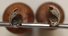 Paire de Fers à Dorer Fleuron modèle Alde azuré XVIe s. Bronze Reliure #14