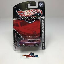 SALE!  '69 Volkswagen Squareback PURPLE * Hot Wheels Garage Series * HH35