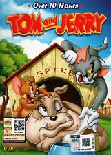Kids Cartoon DVD Tom And Jerry TV Series Vol.1-141 + Movie (Over 10 Hours)