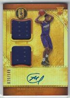 2016-17 GOLD STANDARD MARQUESE CHRISS DUAL JERSEY AUTO RC #245 SUNS CAVS /149