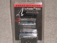 New Whistler 400 Quadradyne Radar Detector - Nos