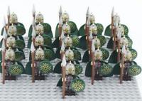 21Pcs New Ancient Roman Knight Minifigures Building Block Assembly DIY Toy Sets