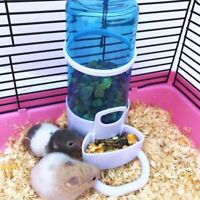 Newly Automatic Pet Hamster Rabbit Food Water Bowl Bottle Dog Bottle Dispenser