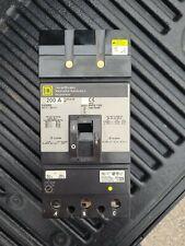 Square D I-Line Ka36200 3 Pole 200 Amp 600 Volt Circuit Breaker