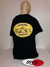 So-Cal t-shirt lead sled BLACK sz M rear print hot rod 32 ford chev