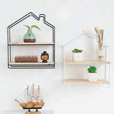 Corner Wall Shelves Shelf Rack Floating Mounted Storage Display Home Decor