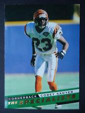 NFL 155 Corey Sawyer Cincinnati Bengals SkyBox Specialists 1995