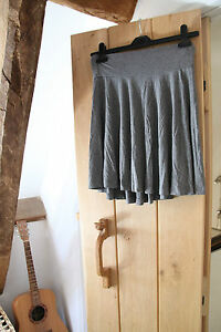 H&M Ladies Soft Grey Skirt size Small approx 8 - 10